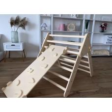 Детский Спортивный Комплекс Треугольник Пиклера c горкой для детей от 3 месяцев и до 150 кг 85x174x79 см 62415