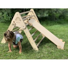 Детский Спортивный Комплекс Треугольник Пиклера c горкой для детей от 3 месяцев и до 150 кг 85x174x79 см 62420