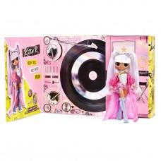 Кукла ЛОЛ Королева Китти Ремикс с музыкальными аксессуарами и пластинкой, высота 28 см - LOL OMG Remix! Kitty K