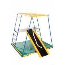 Детский спортивный Комплекс-уголок для малышей для дома и улицы: качели, горка, лестницы 135х115х130см 62589
