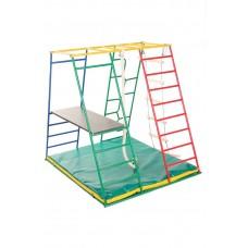 Детский спортивный Комплекс-уголок для малышей для дома и улицы: качели, горка, рукоход 135х115х130см 62590