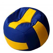 Мягкое Бескаркасное Кресло-мешок для детей Волейбольный Мяч с чехлом из ткани Оксфорд, полистирол 90х90см