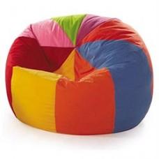 Мягкое Бескаркасное Кресло-мешок для детей Мяч Шапито, чехол из ткани Оксфорд, наполнитель полистирол D=100см