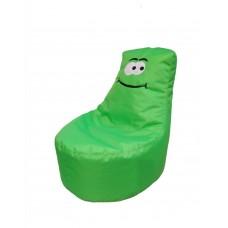 Бескаркасное Кресло-мешок Фисташка для детей с чехлом из ткани Оксфорд, наполнитель-гранулы 90х60 см, зеленый