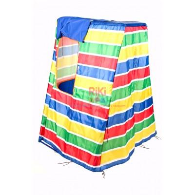 Детская палатка-вигвам для спортивного комплекса от солнца и дождя 100х130х150см 64925