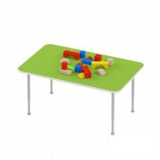 Стол игровой для рисования и настольных игр на регулируемых ножках для детских садов 120х62х42/58 см 63804