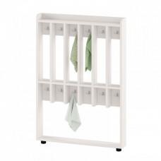 Вешалка Шкаф напольный для хранения полотенец для детских садов на 6 вертикальных секций 84х11х120см 63737