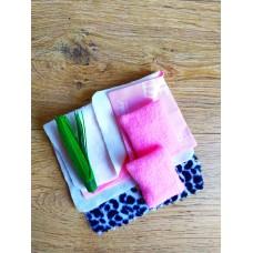 Набор текстиля из 10 предметов для игрушечной мебели в Гостиную кукольного домика кукол Барби Barbie (1105)
