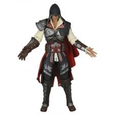 Игровая коллекционная Фигурка Эцио Мастер Кредо убийцы 2 с выдвижными лезвиями Ezio Master Assassin`s NECA