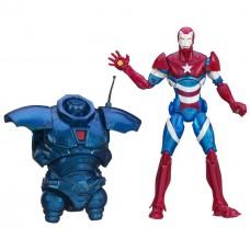 Фигурка Железный Патриот с туловищем Железного Торговца, Легенды, 15 см - Iron Patriot, Marvel Legends Hasbro