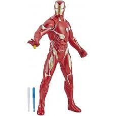 Игровая Фигурка Железный Человек, репульсорный выстрел со звуком, высота 33см - Iron Man, Repulsor Blast, Hasbro