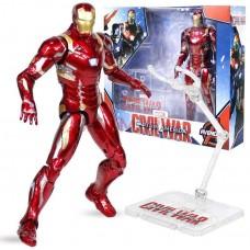 Фигурка Железный Человек Марк 46 на прозрачной подставке, 18 см - Iron Man Mark 46, Avengers Marvel Hasbro