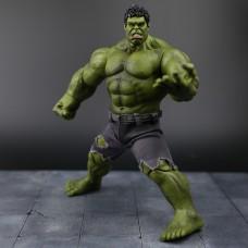 Коллекционная Фигурка Халк со сменными кистями и съемными шортами, высота 26 см - Hulk, Avengers, Marvel 41110-02 az-hulk001