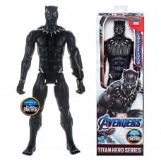 Коллекционная Игровая Фигурка Черная Пантера Мстители: Финал, высота 30 см - Black Panther, Avengers, Hasbro 41203-02 az-E5875_E3309