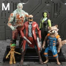 Набор фигурок супергероев Стражи Галактики, 5 персонажей Marvel - Marvel Аction figures, Guardians of the Galaxy 41204-02 az-mgog01