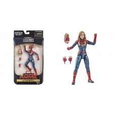 Фигурка, Капитан Марвел в красной форме, Легенды Марвел - Captain Marvel, Hasbro, Red KO, Marvel Legends 41219-02 az-E3885/E3542R