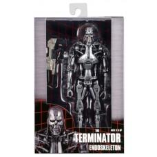 Игровая коллекционная Фигурка Терминатор Эндоскелет Т-800, с автоматом - Endoskeleton, The Terminator, Neca