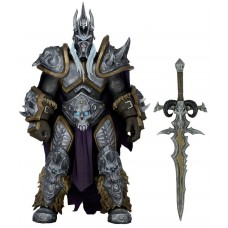 Игровая Коллекционная Фигурка Король Лич Артас Герои бури Варкрафт - Lich King Arthas, World of Warcraft, Neca