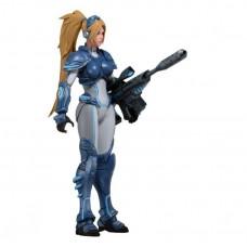 Игровая Коллекционная Фигурка Нова Герои Бури, высота 15 см - Nova, Heroes of The Storm, StarCraft 2, Neca