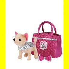 Игрушечная собачка в сумочке с бантиком для девочек Чи Чи Лав Модный Гламур - Chi Chi Love Glam Fashion, Simba