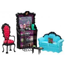 Кукла Монстер Хай Клодин Вульф Коффин Бин с мебелью Monster High Clawdeen Wolf Coffin Bean