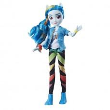 Кукла пони - пегас Рейнбоу дэш Rainbow Dash классический стиль - My Little Pony Equestria Girls Classic Style
