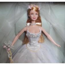 Коллекционная Кукла Свадебная Барби Невеста 2001 года - Romantic Wedding Day Barbie Collector Edition Mattel