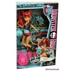 Кукла Монстер Хай Торалей Страйп Монстры Спорта Monster High Toralei Stripe Ghoul Sports