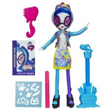 Кукла Ди Джей Пон-3 девочки Эквестрии с аксессуарами для рисования - My Little Pony DJPon-3 Rainbow Rocks Hasbro