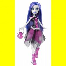 Кукла Монстер Хай Спектра Вондергейст базовая с питомцем Monster High Spectra Vondergeist Basic