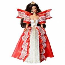 Коллекционная Кукла Барби Брюнетка Праздничная Счастливого Рождества 1997 года - Barbie Happy Holidays
