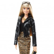Коллекционная Кукла Барби шарнирная Городской Образ (Джунгли) Высокая Мода - Barbie Urban Jungle Black Label