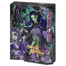 Кукла Монстер Хай Аманита Найтшейд Мрак и Цветение с аксессуарами Monster High Amanita Nightshade Gloom&Bloom