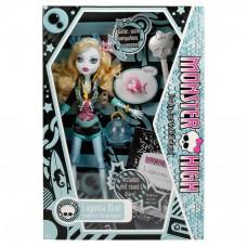 Кукла Монстер Хай Лагуна Блу Базовая с питомцем Monster High Lagoona Blue Basic