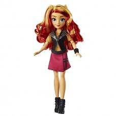 Кукла Сансет Шиммер, девочки Эквестрии Моя Маленькая Пони - My Little Pony Equestria Girls School Spirit, Hasbro