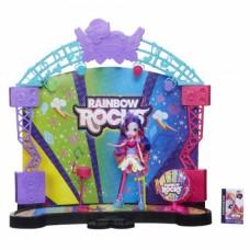 Игровой набор Рок-концерт: Сцена с фигуркой Пинки Пай Моя Маленькая Пони - My Little Pony Rainbow Rocks, Hasbro