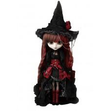 Кукла Коллекционная Пуллип Вильгельмина в образе ведьмочки с аксессуарами и подставкой, 31см - Pullip Wilhelmina