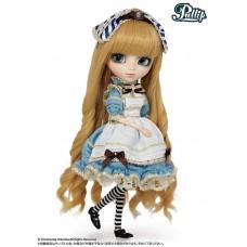 Кукла Коллекционная шарнирная Пуллип Алиса Классическая аксессуары и подставка, 30см - Pullip Classical Alice