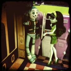 Куклы Монстер Хай Скара и Худу Вуду КомикКон Monster High Scarah Screams and Hoodude Voodoo 2012 MIB SDCC
