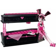 Кукольный игровой набор Monster High Draculaura Кукла Монстер Хай Дракулаура с кроватью