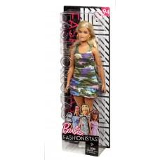 Кукла Барби Блондинка Камуфляж - Barbie Fashionistas Girly Camo