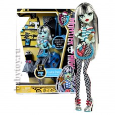 Кукла Монстер Хай Френки Классрум Monster High Frankie Stein Doll Home Ick Playset