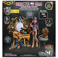 Кукольный игровой набор Monster High Столик Клео - Vanity Cleo de Nile