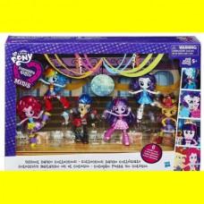 Моя маленькая пони минис школьные танцы My Little Pony Equestria Girls Minis School Dance Collection Doll Set
