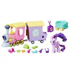 Игровой Набор Моя Маленькая Пони Поезд Дружбы с прицепом и фигуркой - My Little Pony Friendship Express Train
