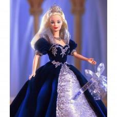 Коллекционная Кукла Барби Принцесса Тысячелетия Блондинка в синем платье 1999 года - Millennium Princess Barbie