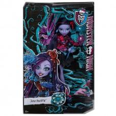 Кукла Монстер Хай Джейн Булитл Мрак и Цветение Наряд для Вечеринки Monster High Jane Boolittle Gloom and Bloom