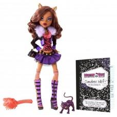 Кукла Монстер Хай Клодин Вульф базовая с питомцем - Monster High Clawdeen Wolf Basic