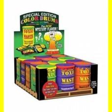 Самые кислые конфеты-Toxic Waste Special Edition Colored Drums Candy- 1 упаковка(12 штук)