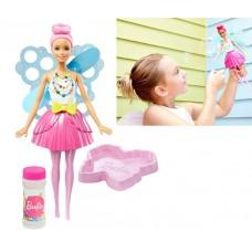 Игровой набор для девочек Кукла Барби Сладкая мечта Фея Мыльные пузыри - Barbie Dreamtopia Bubbletastic Fairy